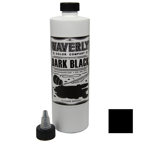 Waverly color dark black 355ml magic moon fachhandel for Waverly tattoo ink
